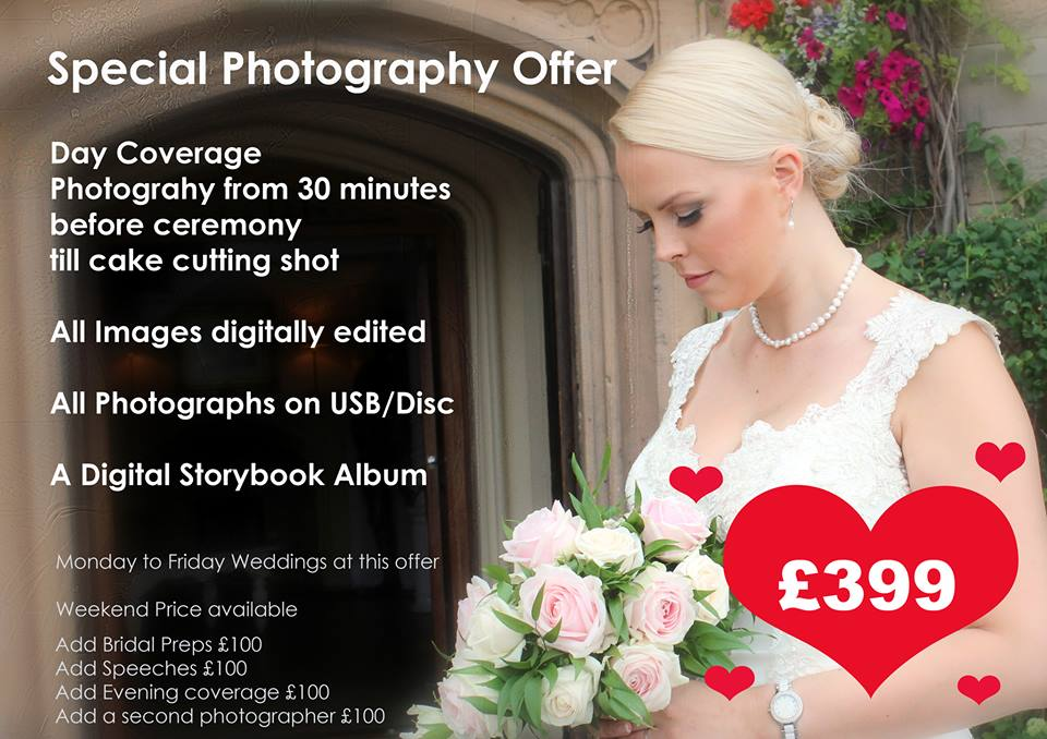 Wedding World Photography Special Offer LCWFJune14