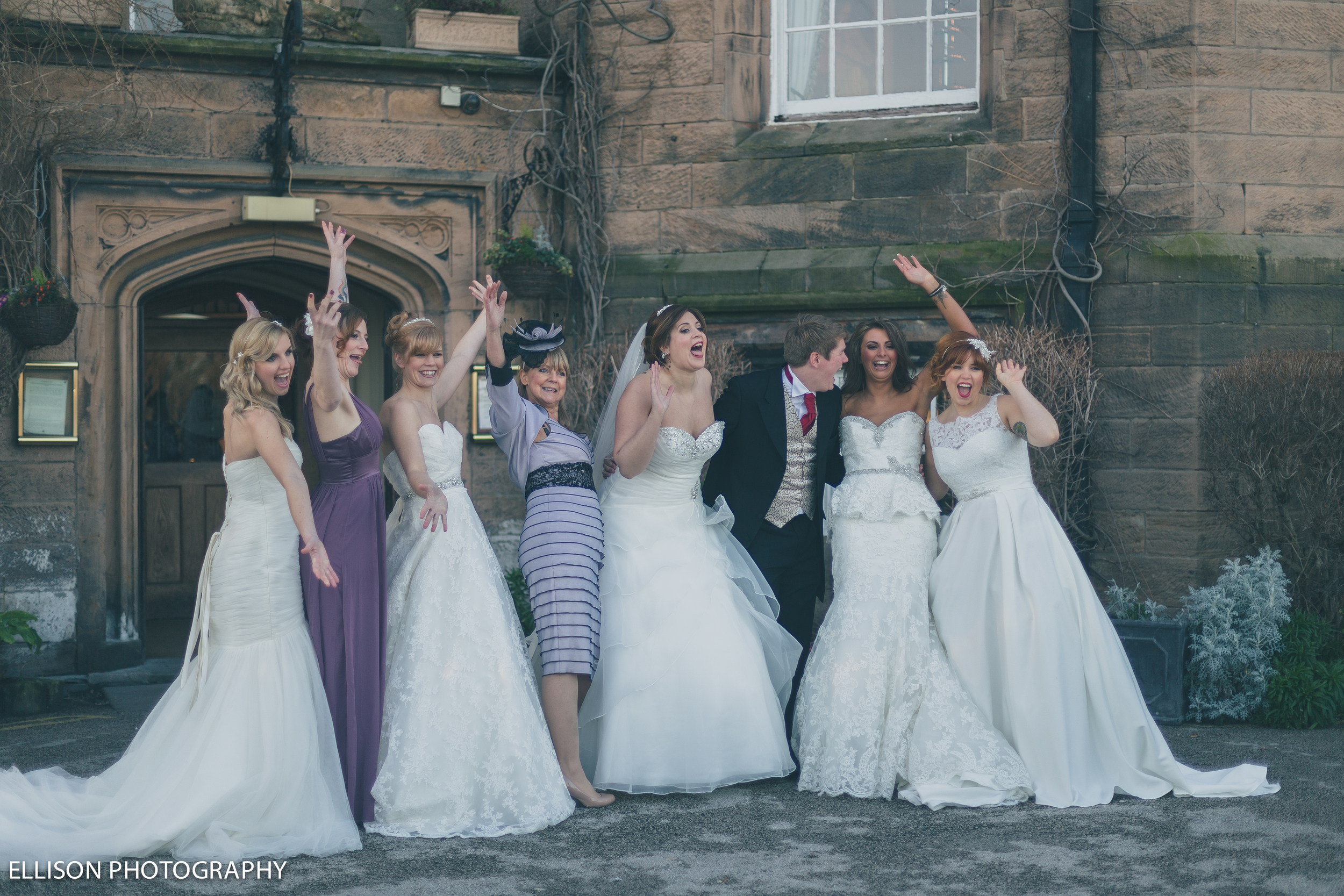 Brides Leasowe Castle Wedding Fayre Red Event Wirral Sunday 19th January 2014. FB
