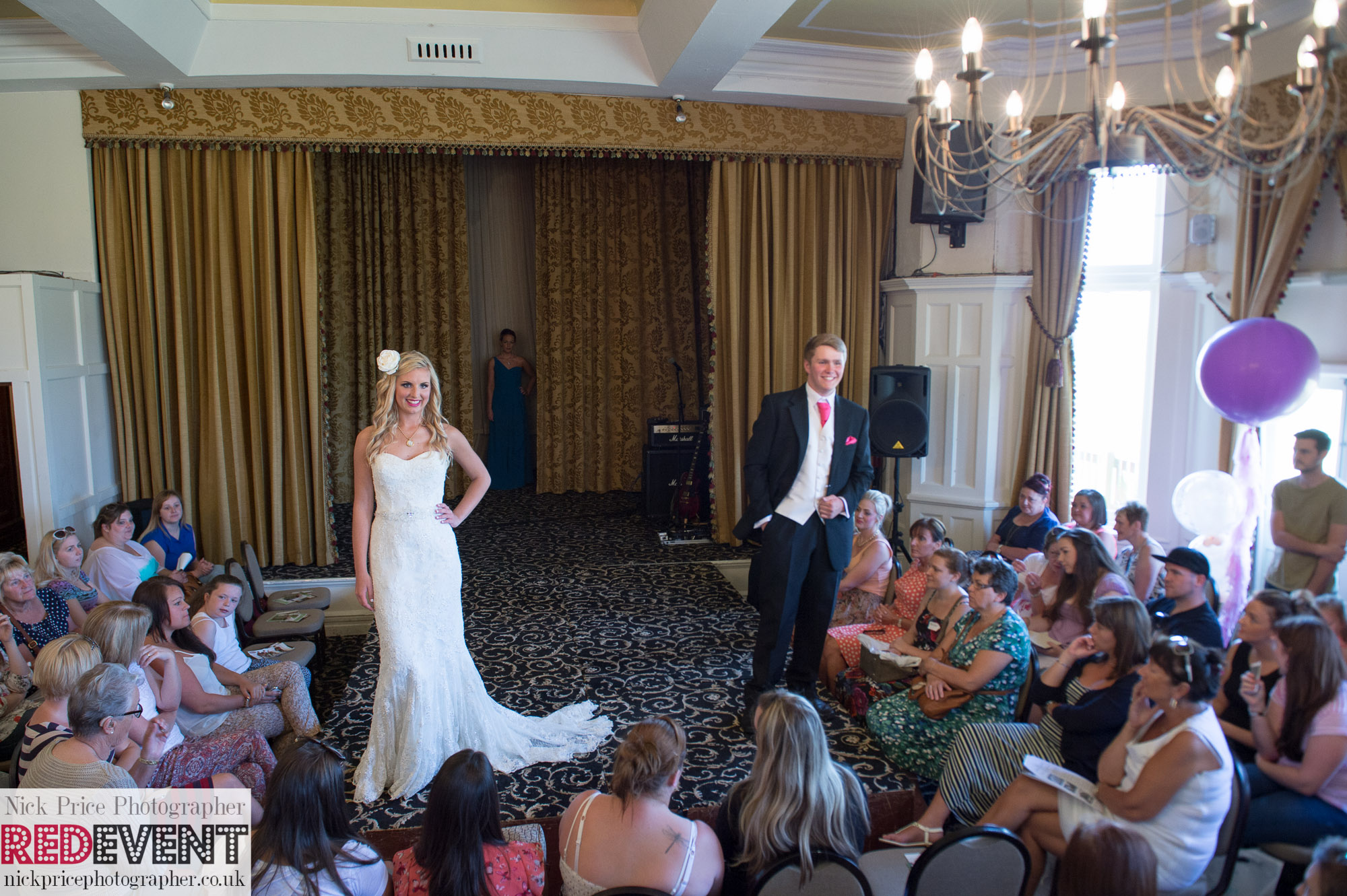 FB Leasowe Castle Wedding Fayre, Wirral. Sunday 22nd June Catwalk show RED EVENT-20