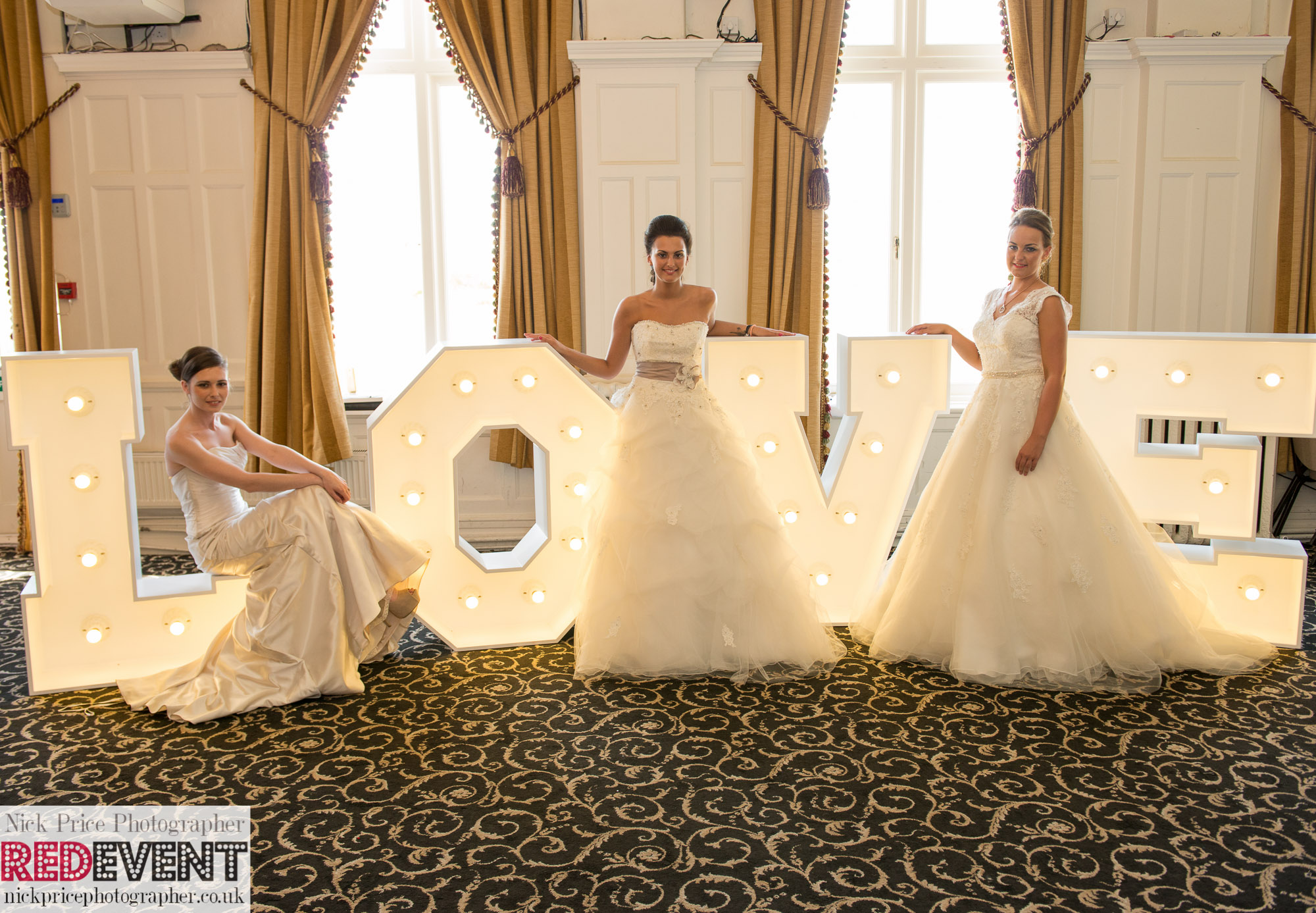 FB  TW Leasowe Castle Wedding Fayre, Wirral. Sunday 22nd June LOVE Letters RED EVENT-124