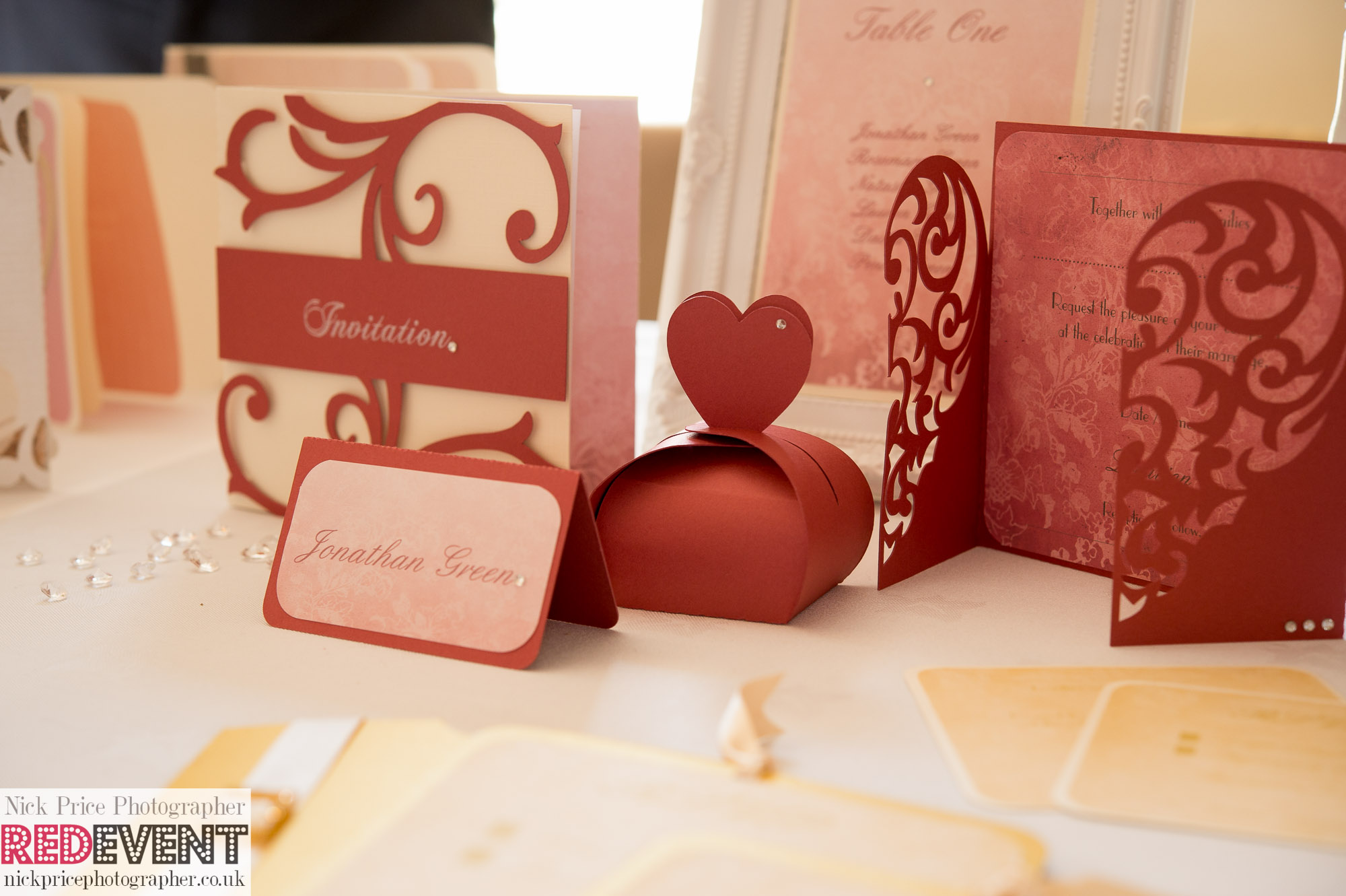 FB TW Leasowe Castle Wedding Fayre, Wirral. Sunday 22nd June RoseVert Stationery RED EVENT-89