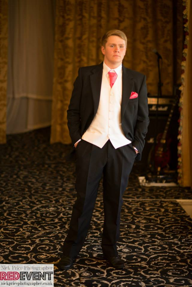 Leasowe Castle Wedding Fayre September 2014 Greenwoods Menswear George