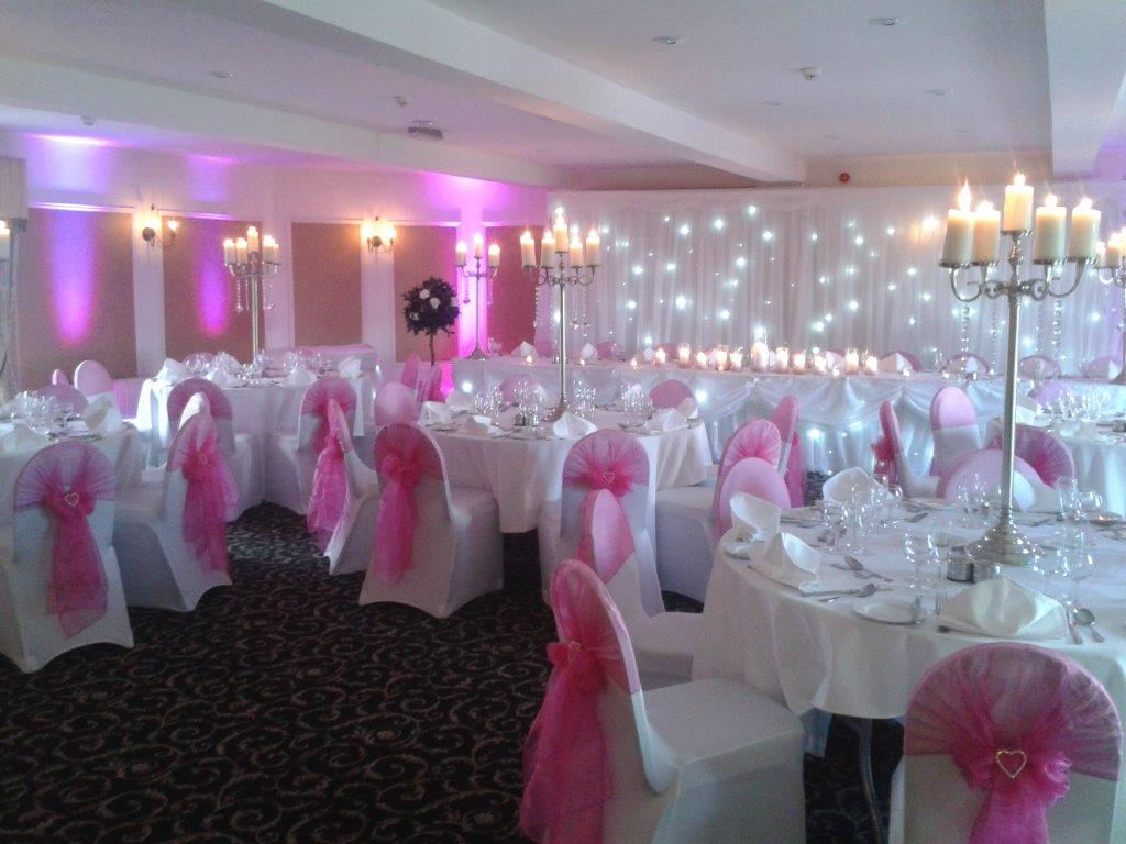 The Red Event Leasowe Castle Wedding Fayre September 2014 Special offer Turret Suite Pink