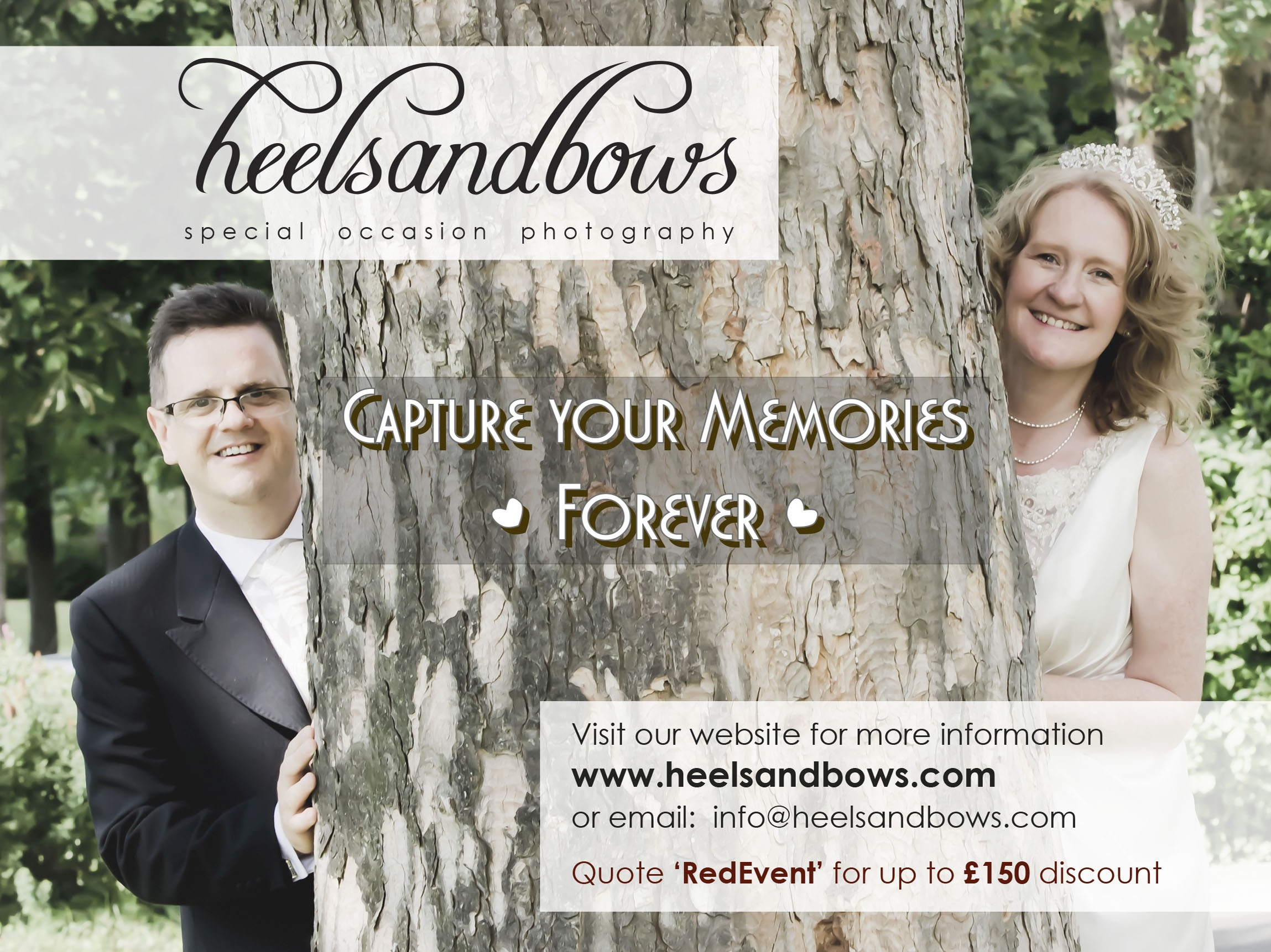 Wedding Advert - Landscape - Red Event