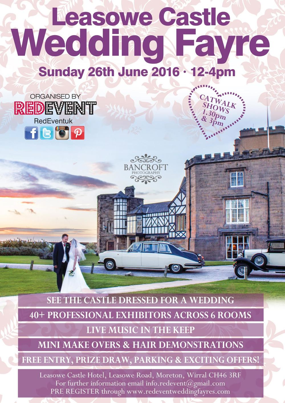 Leasowe Castle Wedding Fayre