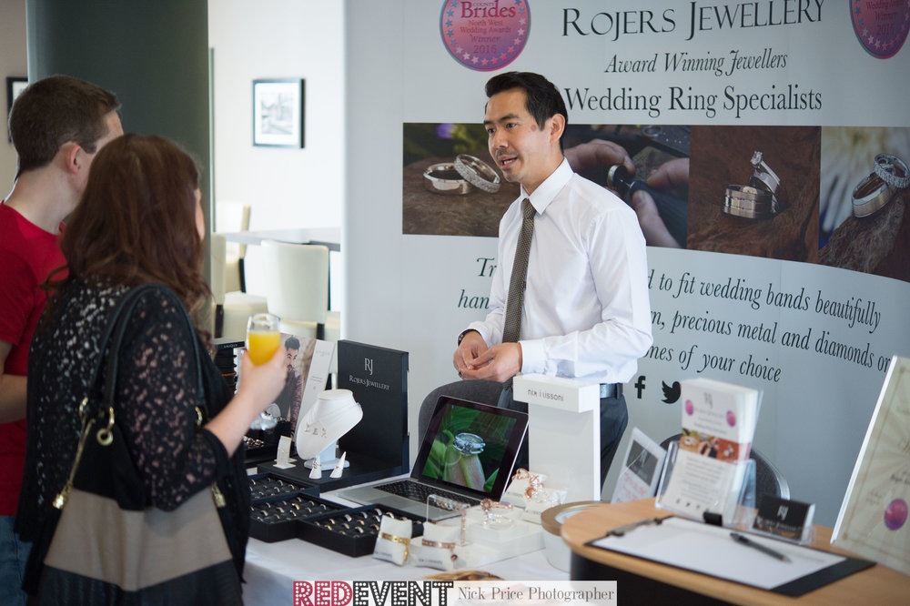Rojers Jewellery Red Event Wedding Fayre