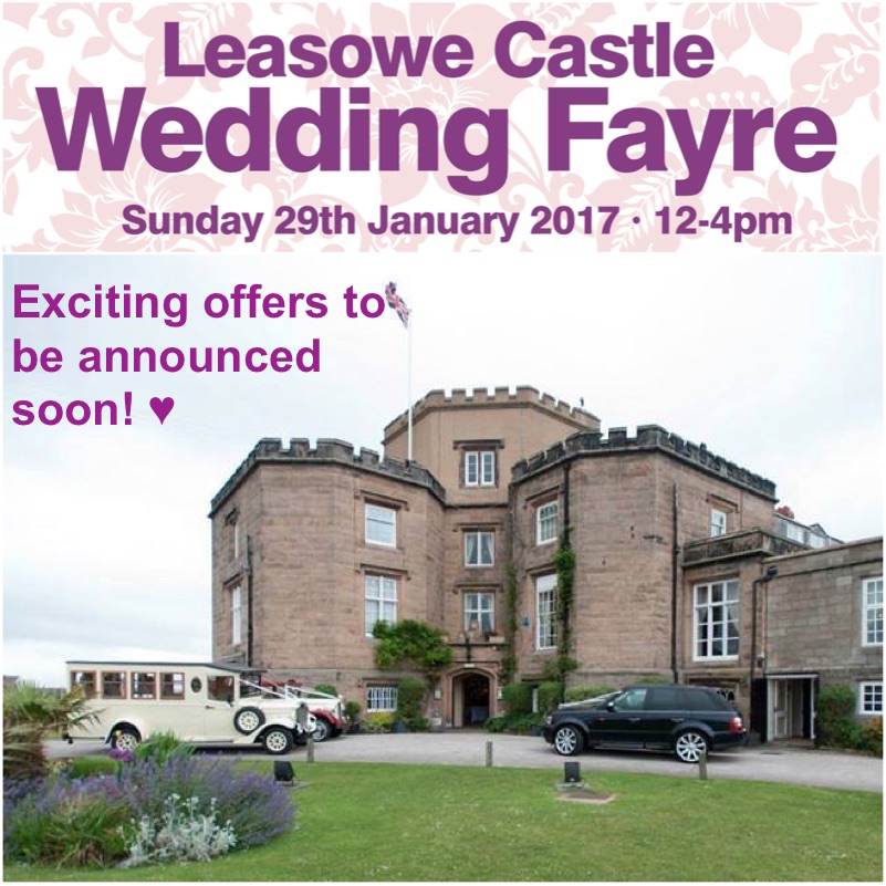 Leasowe Castle Red Event North West Wedding Fayre Wirral Special Offers www.redeventweddingfayres.com