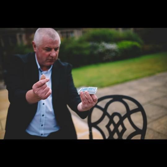 Robbie Danson Close up Magician Special Offer Chester Wedding Fayre