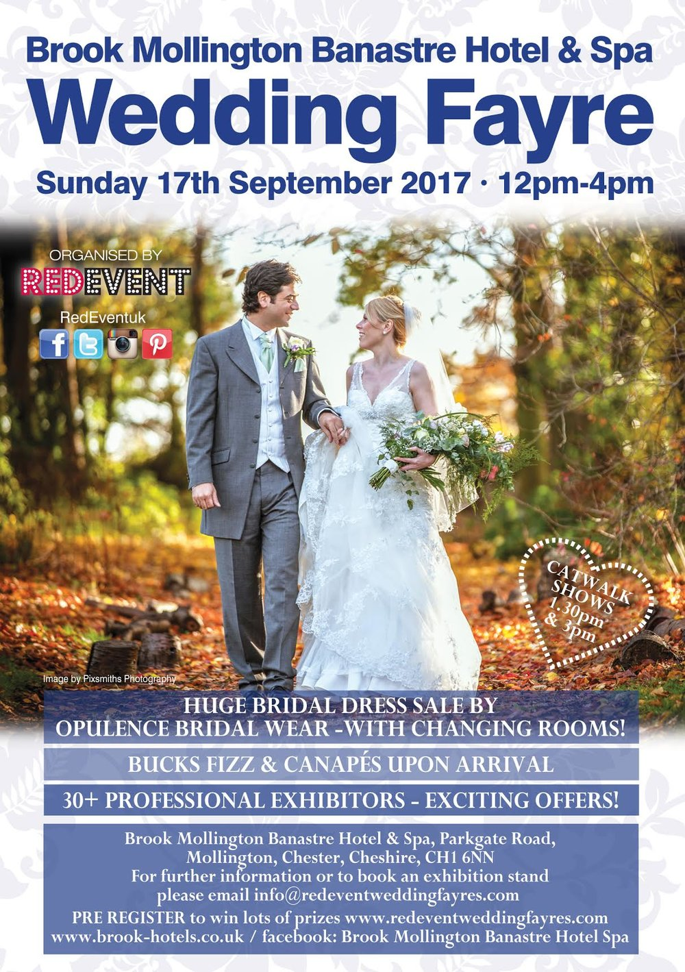 Brook Mollington Banastre Hotel & Spa Chester Wedding Fayre Red Event.jpg