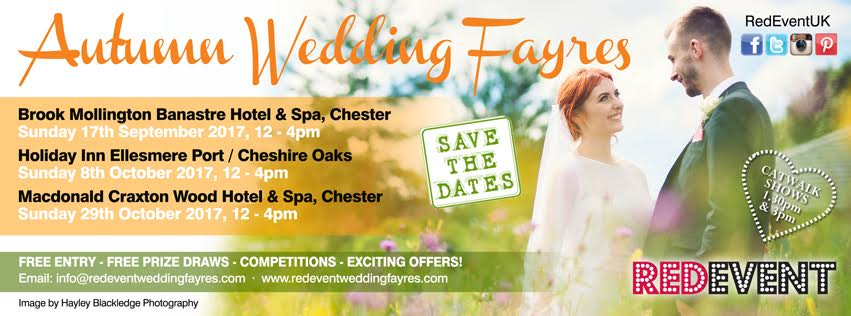 Red Event Autumn North West Wedding Fayre flyer Wirral Chester Cheshire Southport Wedding Fair.jpg