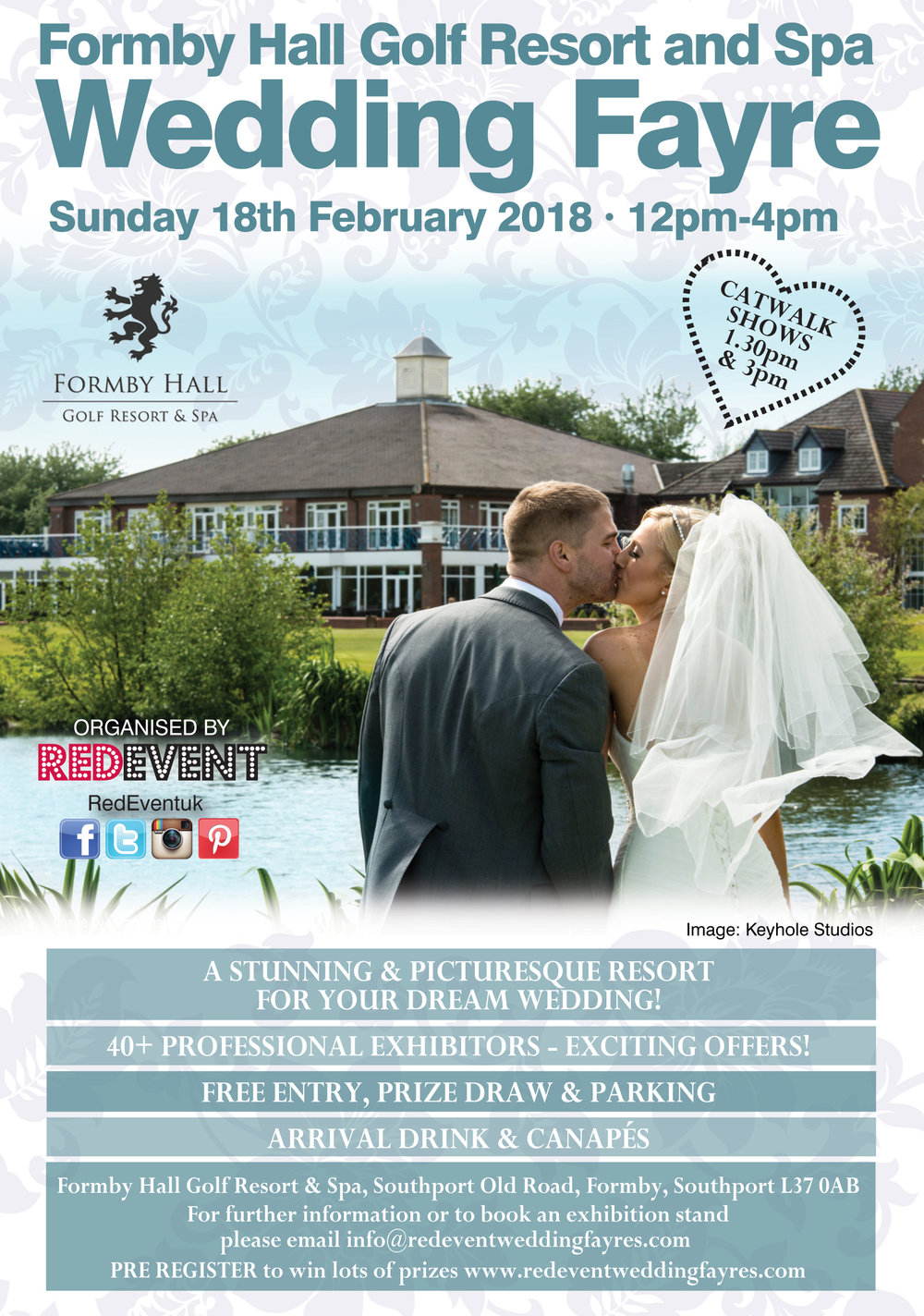 Formby Hall Golf Resort & Spa Liverpool Wedding Fayre Red Event.jpg