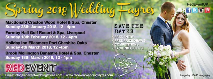 Spring Red Event Wedding Fayres North West Wedding Fair Wirral, Cheshire, Chester, Liverpool, Merseyside www.redeventweddingfayres.com.jpg