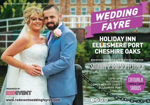 Holiday Inn Ellesmere Port Cheshire Oaks Wedding Fayre Chester, Cheshire Wedding Fair, Wirral, Merseyside Wedding Venue Show www.redeventweddingfayres.com.jpg