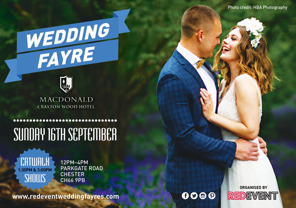 Flyer_Macdonald Craxton Wood Chester Wedding Fair Red Event Wedding Fayre .jpg