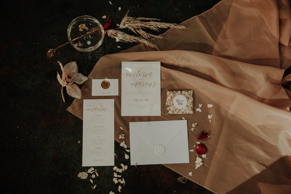 Why is wedding stationery important for your big day? Pearl Vine Print https://www.redeventweddingfayres.com/blog