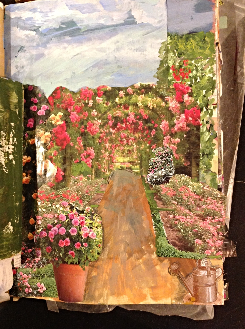 page 2..farther down the garden path and into the rose garden...