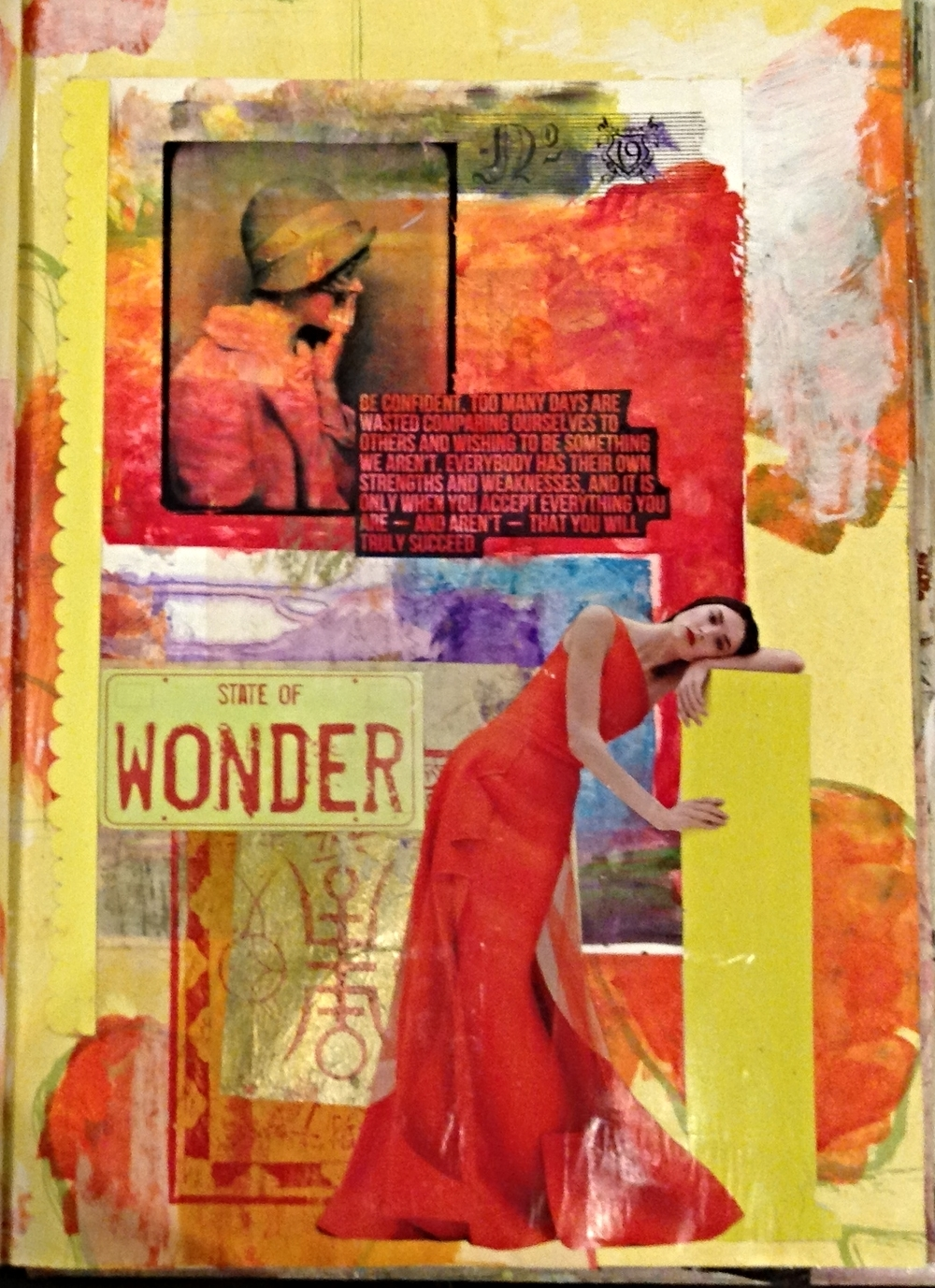 Published in  Art Journaling  magazine, Spring 2015.