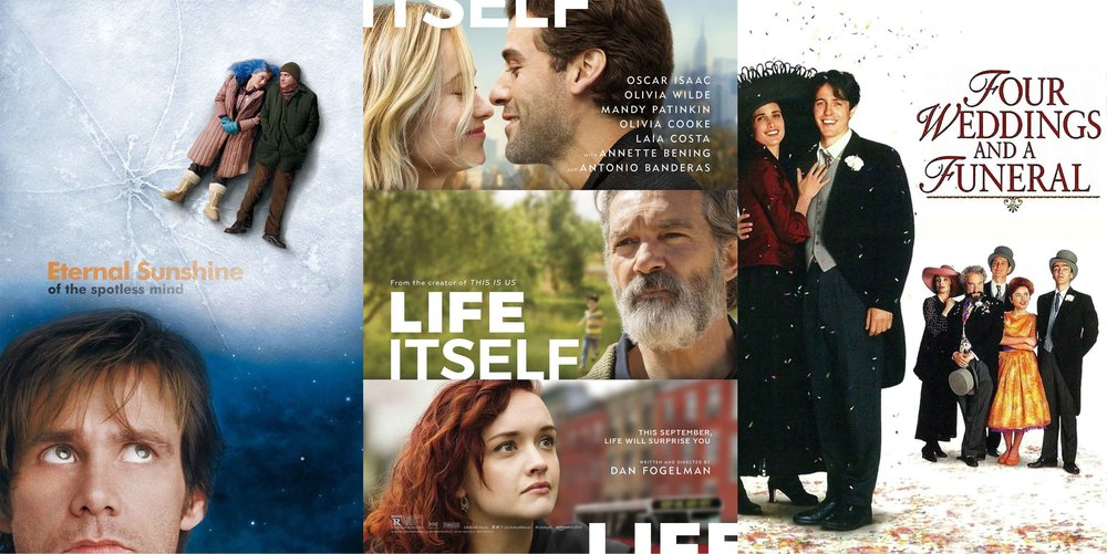 Some of my favourite romantic comedies… I stand by Life Itself, despite its terrible reviews… this movie has heart - an easy recommendation if you're open to following a range of connected stories!