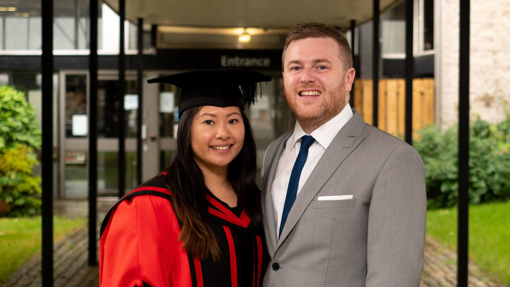 Lisa's Graduation - Dr. Luu