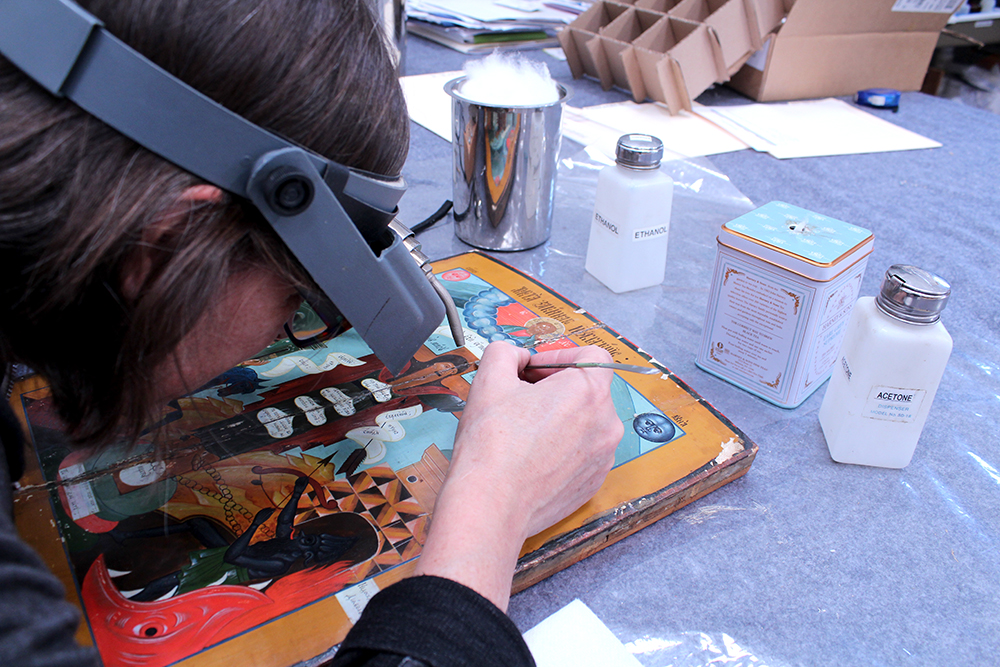 ConservArt Associates, Inc., Susanne Friend. Art Restoration, Conservation.