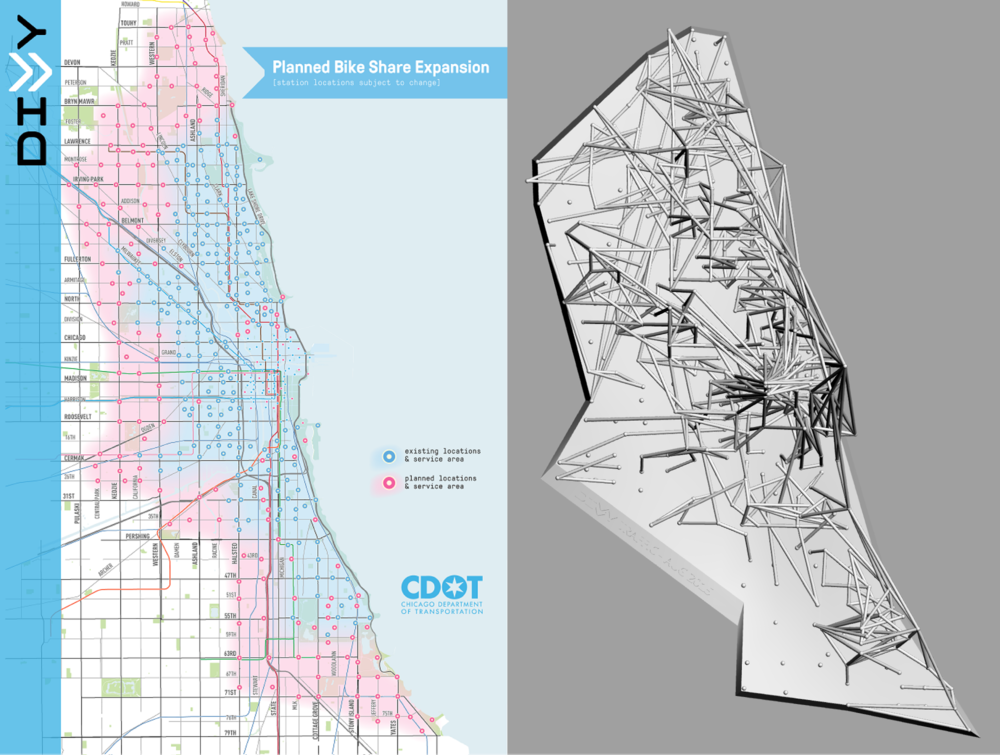 Divvy Station Map Divvy Data Viz — Dohyung Kim Divvy Station Map