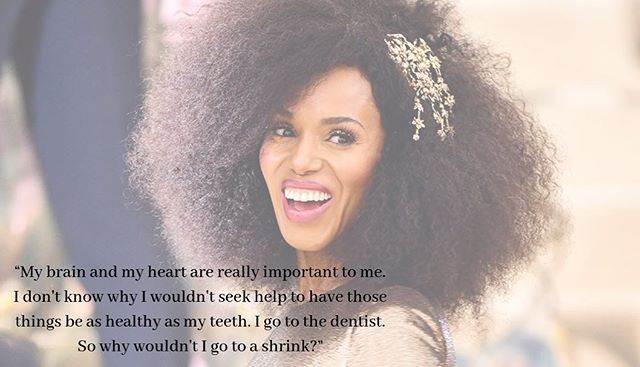 @kerrywashington speaking the truth! #mentalhealthmatters - - - - - #therapy #chicagotherapists #mentalhealth #mentalhealthmatters #mentalhealthrecovery #nobodyshaming #suicideprevention #eatingdisorder #bpd #stress #depressionrecovery #bewell #ptsd #therapist #mentalillness #bodypositivity #edrecovery #eatingdisorderrecovery #psychology #counseling #mentalhealthawareness #mindfullness