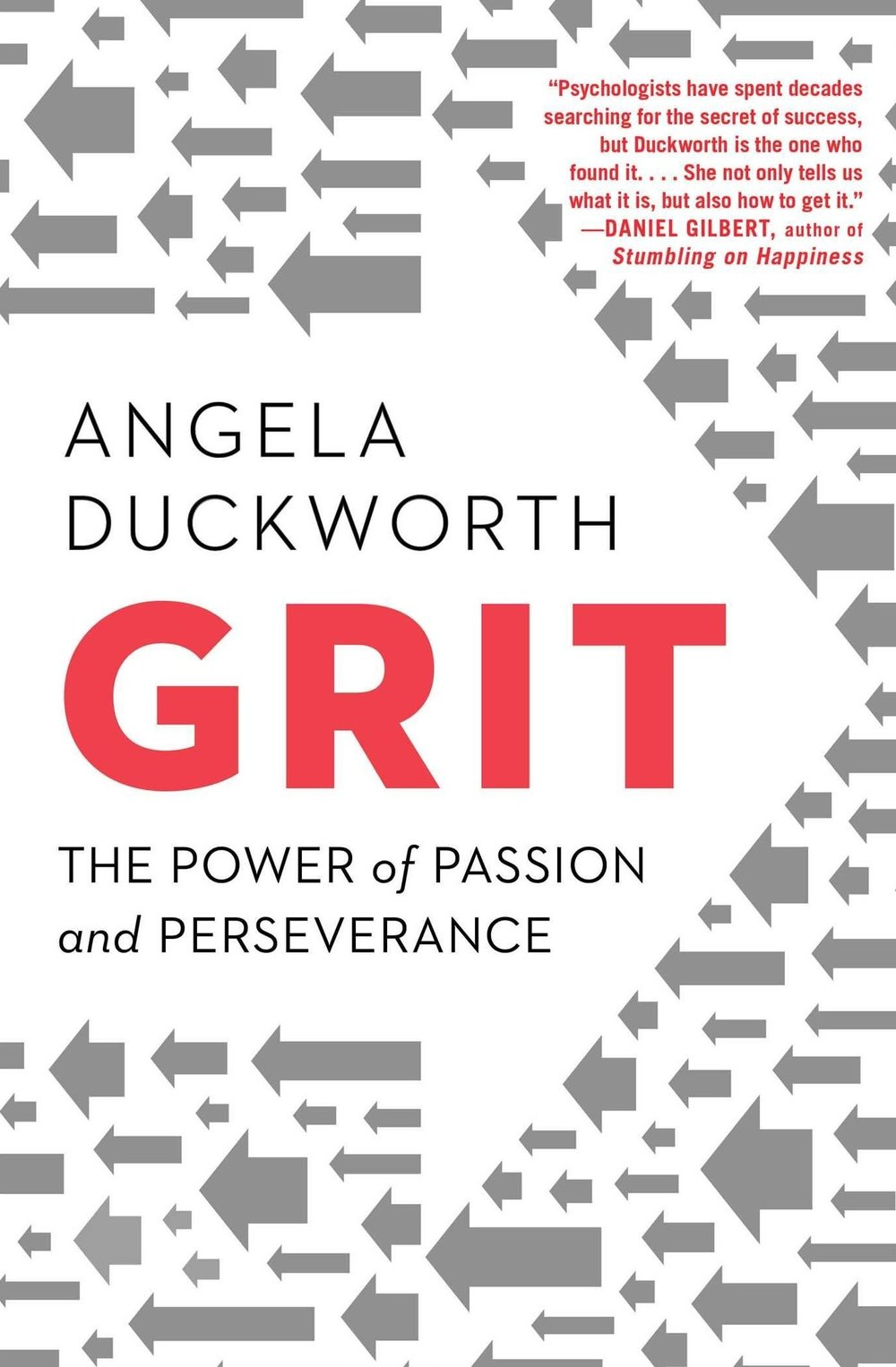Grit: Power of Passion and Perserverance