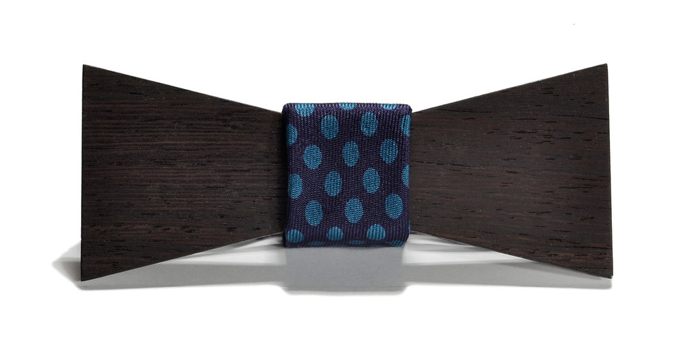 switchwood cambridge interchangeable wood bow tie wenge shorty