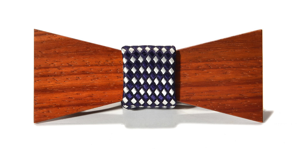 switchwood rook interchangeable wood bow tie padauk shorty