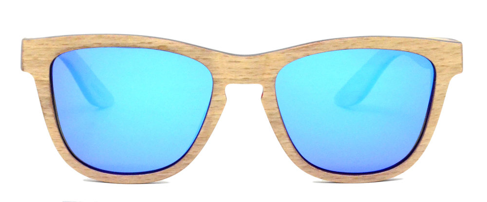 Camber Wooden Sunglasses Maple Front .jpg
