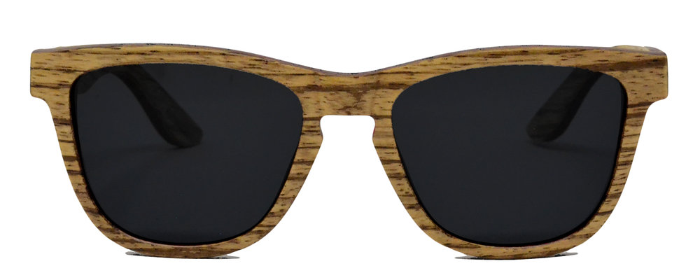 Camber series sunglasses Zebrawood front 1500.jpg