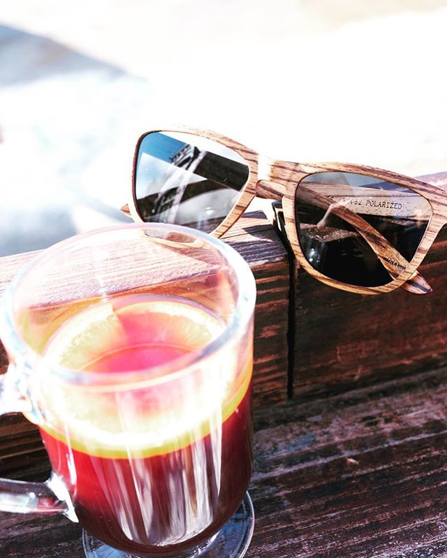 Mulled wine on the mountain 🏔 #breckenridge . . . #itscoldoutside #artinnature #woodensunnies #woodensunglasses #woodwork #shades #endlesssummer #stylin #nature #entrepreneurlife #smallbusiness #sunnies #sunglasseslover #mulledwine #breckenridgecolorado #boss #getoutside