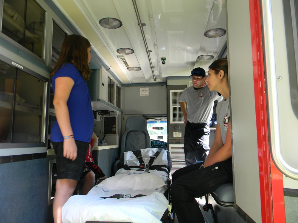 Fun Festival Ambulance tour.JPG
