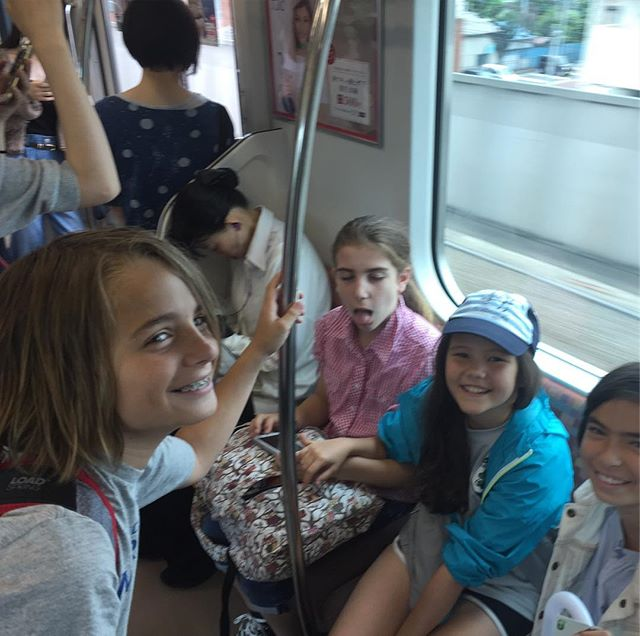 Traveled to Mitaka with these Clarendon goofballs.