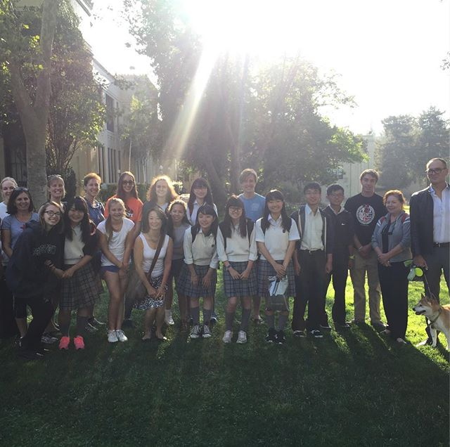 Thanks to the students and families at Los Gatos High School for hosting a great trip!