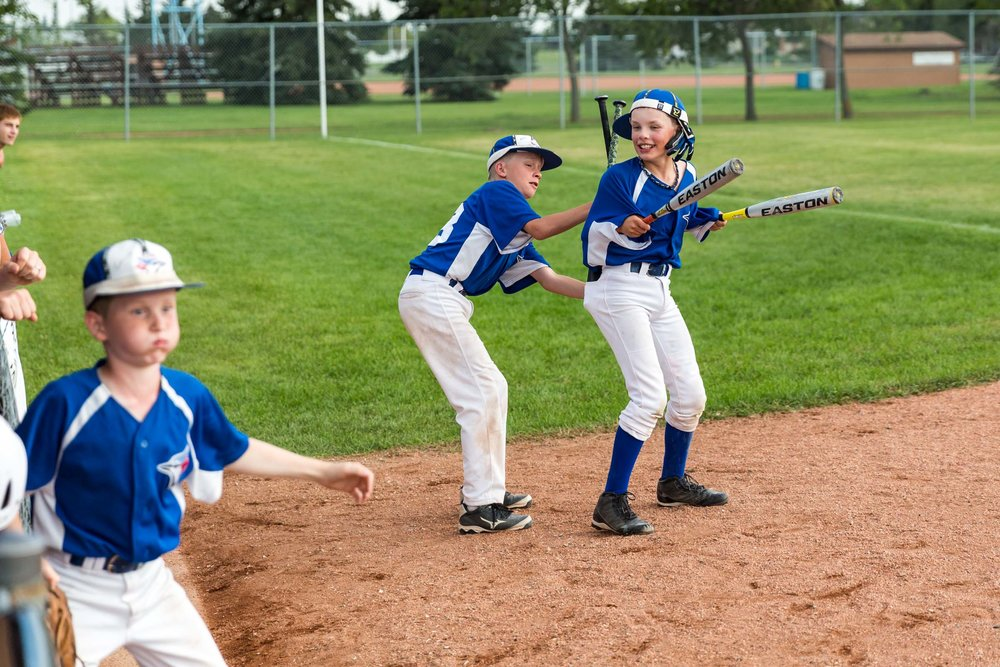 The South Jasper Place Jays would fall behind against the St Albert Cardinals in the championship game at the 2016 Mosquito AA Provincial Tournament. The Jays would rally to within one run in what seemed to be a miracle in the making (the Cardinals would hold them off to win 8-7). Most people feel that the power of the rally cap and whatever it was that this young man was doing, had a big role in keeping his teammates loose and having fun | August 7 at Rudy Swanson Park, Camrose