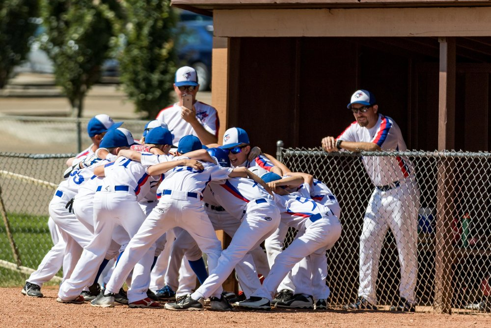 Pregame hype for the South Jasper Place Jays | August 5 at Rudy Swanson Park, Camrose