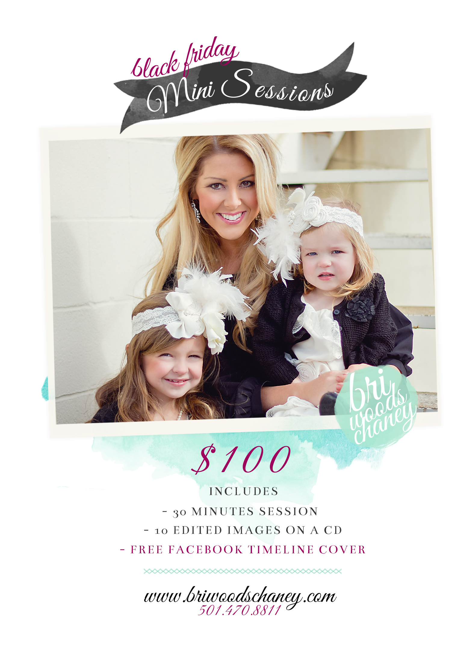 Black Friday Sale Bri Woods Chaney Photography Mini Sessions Arkansas