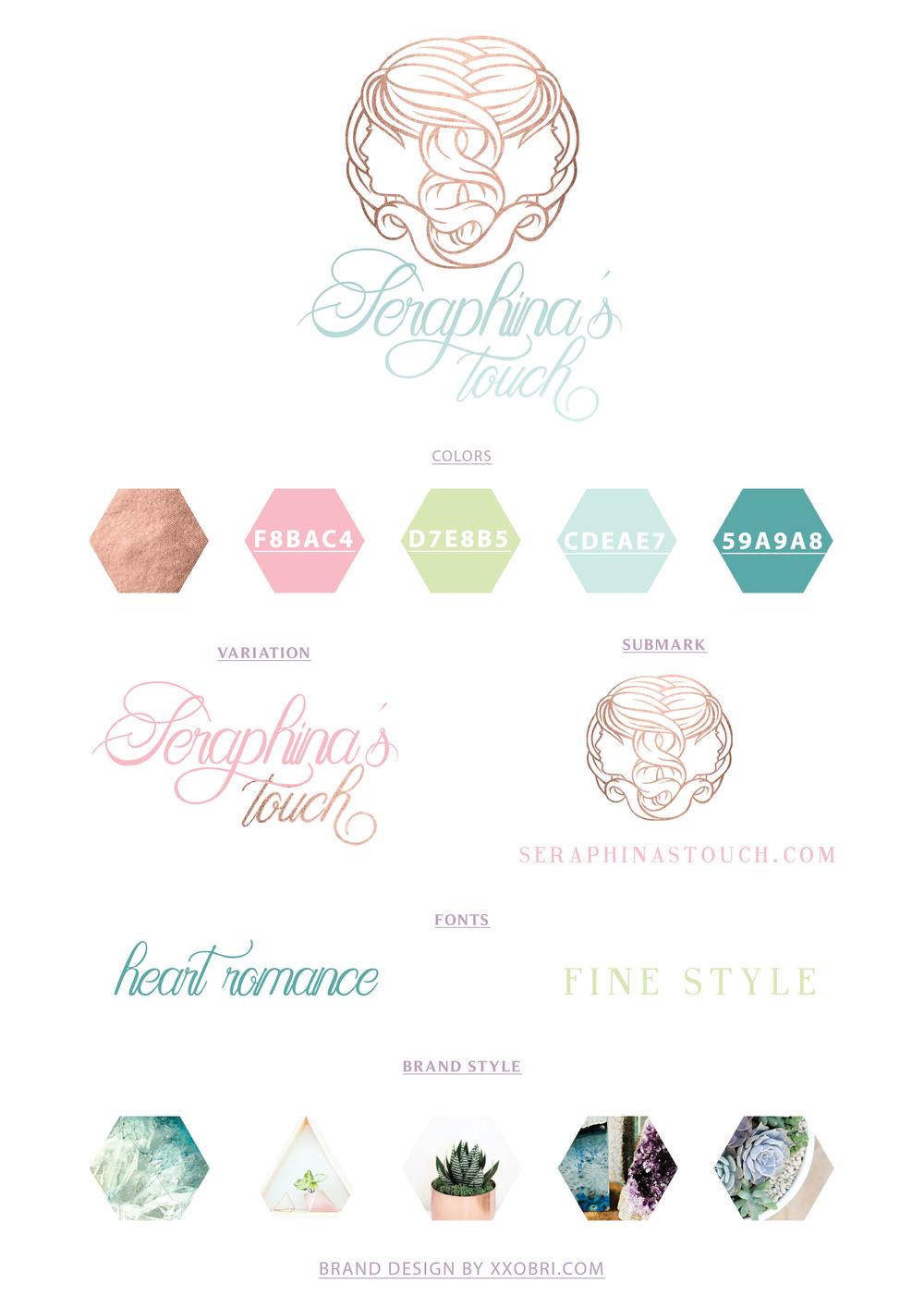 Seraphina's Touch // Branding