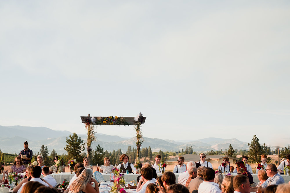 Okanagan orchard wedding