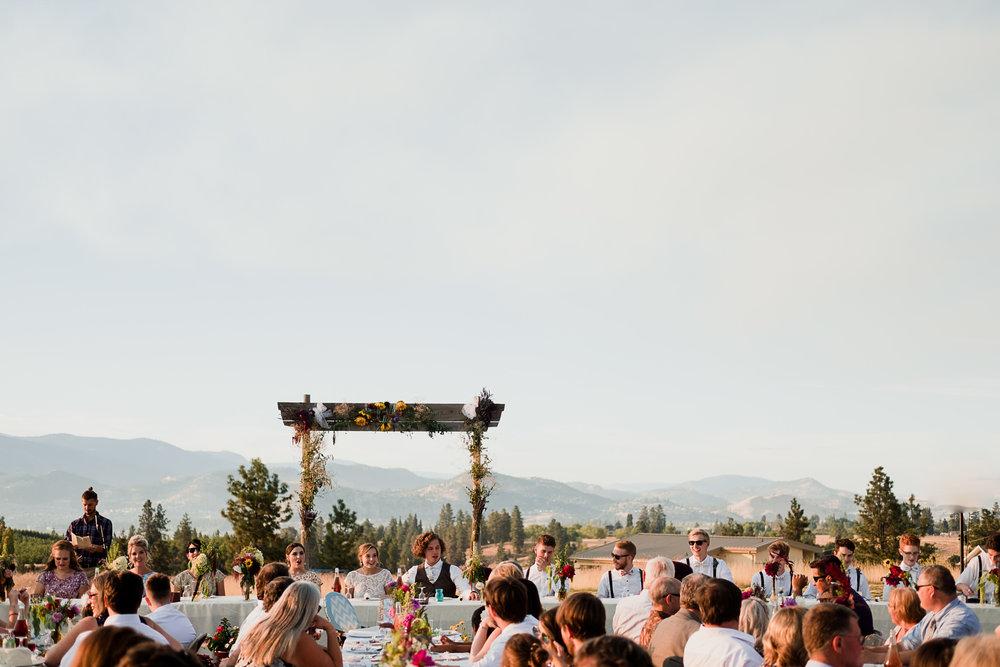 Okanagan orchard wedding