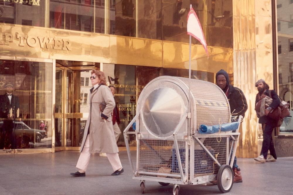 Homeless Vehicle, 1988-89, New York, NY