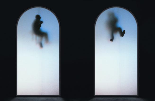 Krzysztof Wodiczko, Guests, 2009, video installation