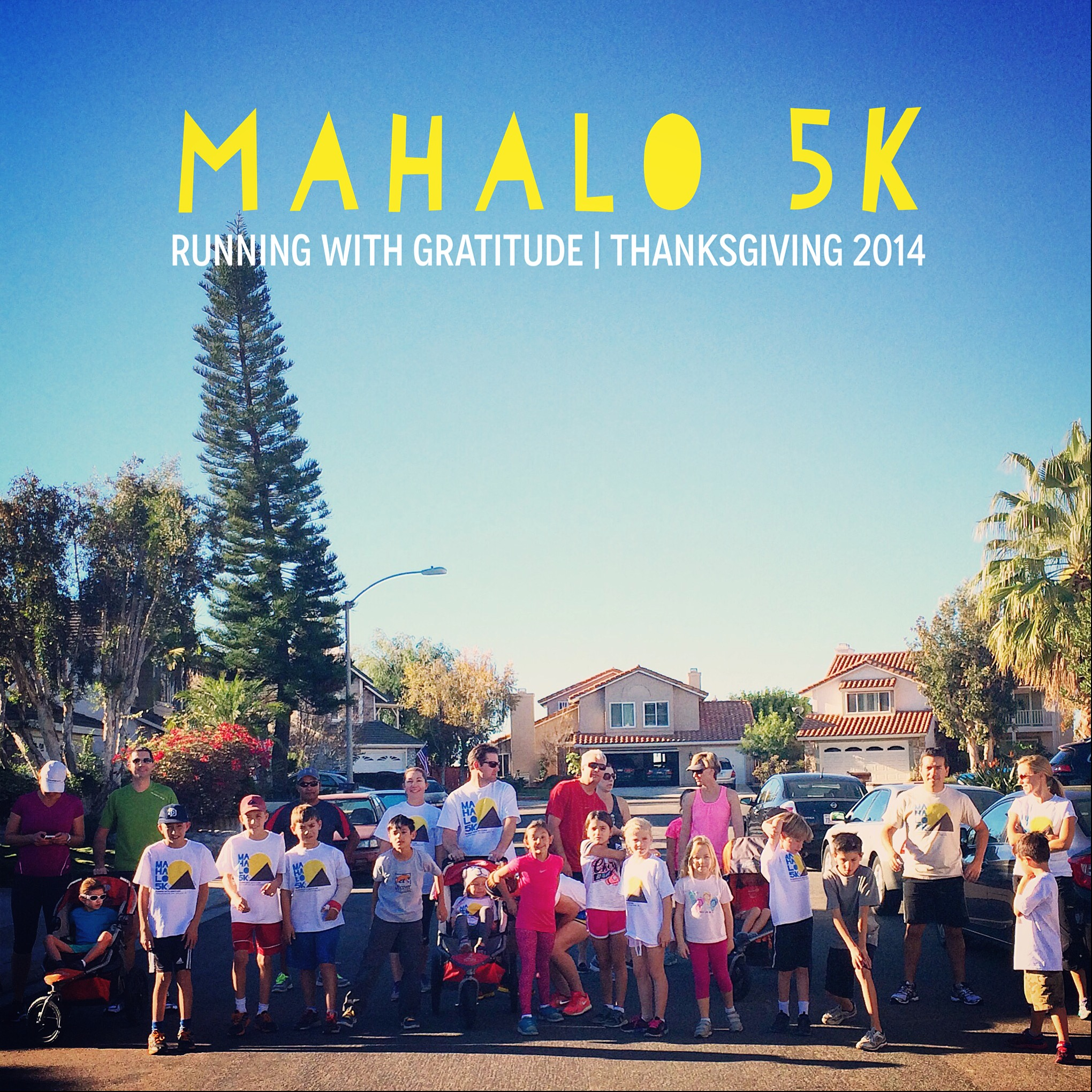 Our Turkey Trot, the Mahalo 5k