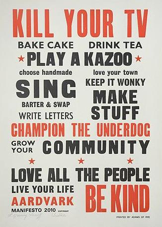 Aardvark Manifesto