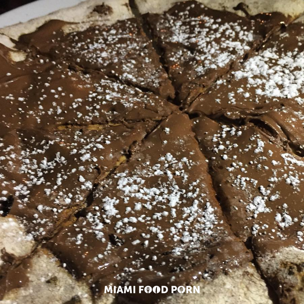 3.	Nutella pizza at Ironside Pizza