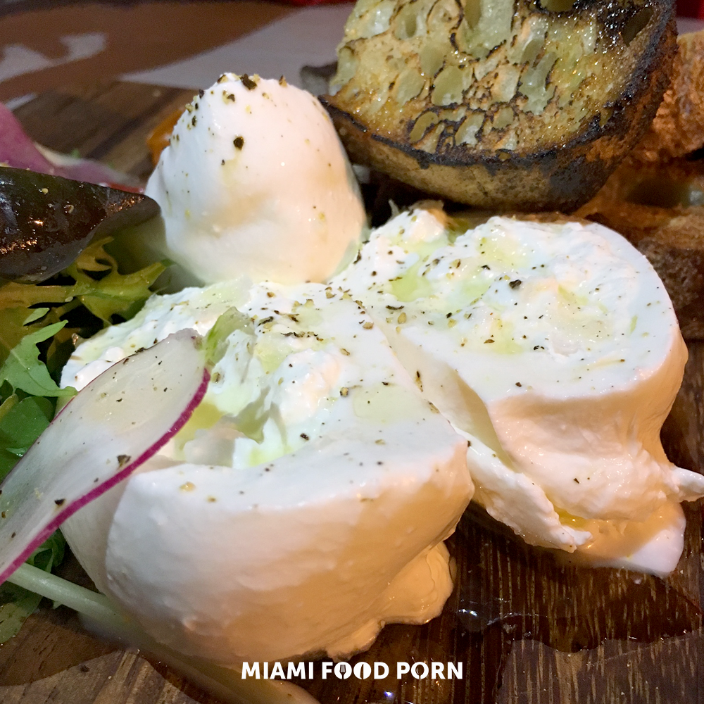 House Made Burrata on Zak the Baker Toast