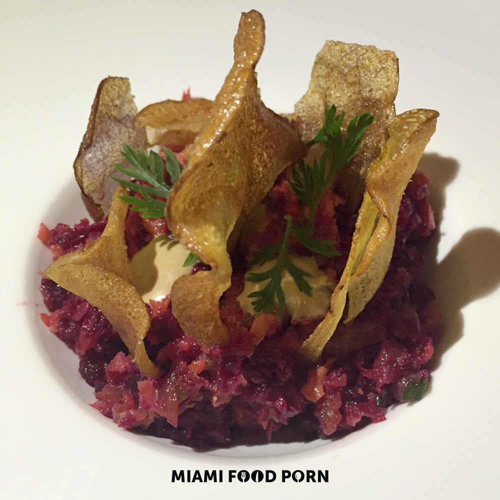 Local Beet & Carrot Tartare