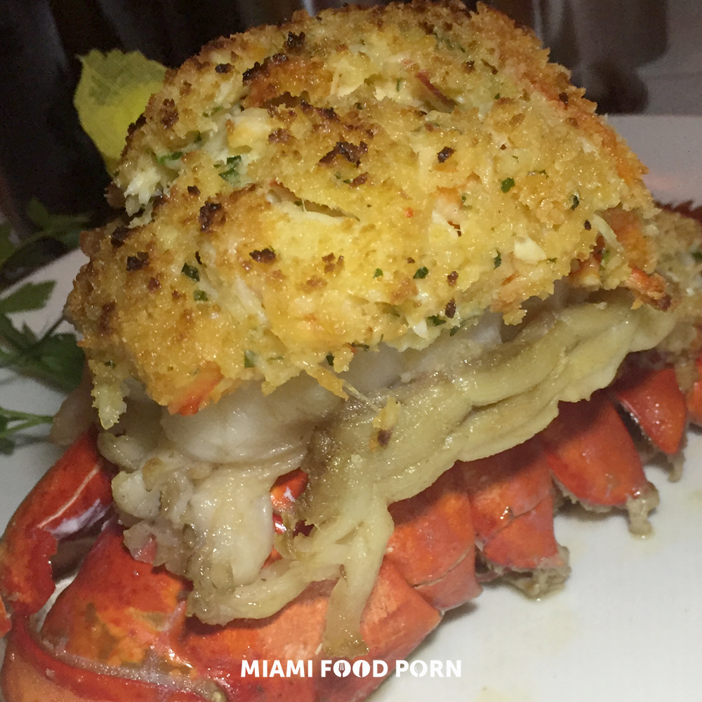 King Crab Stuffed Lobster Tail