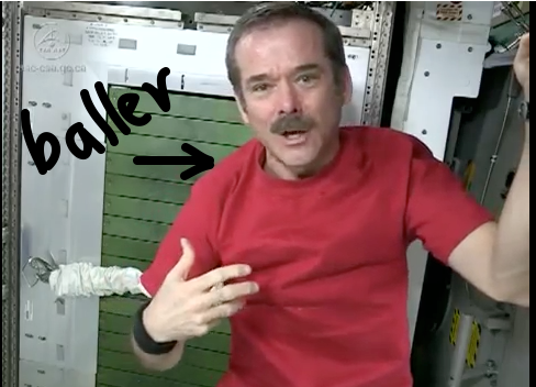 chris hadfield baller